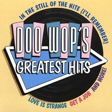 DOO-WOP'S GREATEST HITS CD 10 SONGS, ORIGINAL ARTISTS