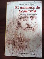 El Romance de Leonardo da Vinci,Dimitri Merezhkovski,Edhasa 2005