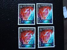 LUXEMBOURG - timbre yvert et tellier n° 1401 x4 obl (A30) stamp (Z)