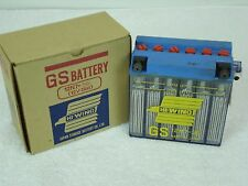 NOS HIGH QUALITY GS BATTERY 12N7-3B  12V 7AH HIGH WING  CLEAR CASE  JAPAN