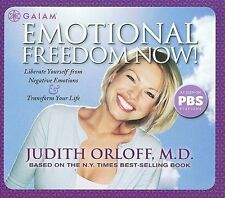 Emotional Freedom Now! - Judith Orloff M.D. Audiobook CD [K96]
