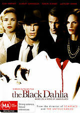 THE BLACK DAHLIA - BRAND NEW & SEALED R4 DVD (JOSH HARTNETT, SCARLETT JOHANSSON)