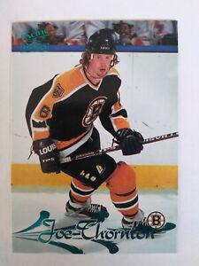 1997-98 Pacific Paramount Ice Blue Joe Thornton #16 Rookie Card RC