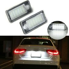 2 SMD 18 LED Number License Plate Lamp White Light for Audi A3 S3 A4 A6 B6 B7 Q7