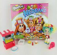 Spin Master Shopkins Hedbanz Game + Popettes Popcorn Stop Set