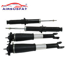4PCS For Cadillac SRX Front Rear Air Suspension Shock Strut w/ Electric 04-09