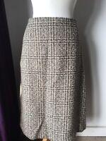 Vintage Tweed 1950s Pencil Skirt Julius 18