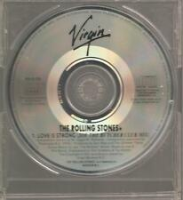 "THE ROLLING STONES ""Love Is Strong (Joe The Butcher Club Mix)"" 1 Track PROMO CD"