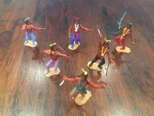 Timpo 3rd Series Indians (3) - Complete Set - Wild West - 1970's