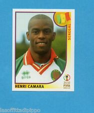 KOREA/JAPAN 2002-PANINI-Figurina n.58- CAMARA - SENEGAL -NEW BLUE BACK
