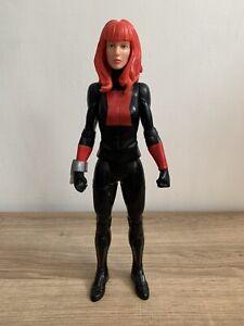 """Marvel Avengers Titan Hero Series 12"""" Black Widow Action Figure In VGC"""