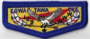 OA Egwa Tawa Dee Lodge 129  Flap RBL Bdr. GA [MX-6367]
