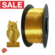 3D Printer Supplies Filament 1Kg 1.75Mm Pla Silk Gold Material Spool Printing