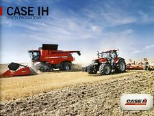 Case Model Range 11 / 2013 catalogue brochure moissonneuse combine tractor
