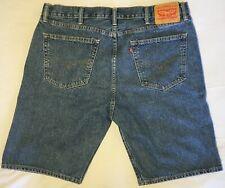 Levis 505 Medium Wash Blue Denim Jean Shorts Mens Regular Fit Size 40