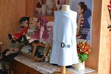 robe cyrillus 8 ans doublee 50% de laine  avec ceinture