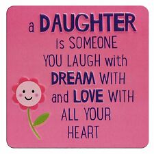 TIN MAGNET - A DAUGHTER IS...