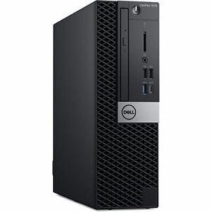 Dell Optiplex 7070 SFF Desktop PC i7-9700 16GB 512GB NVMe SSD Windows 10 Pro