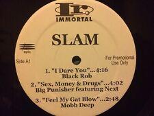 "Slam The Sampler E.P. 12"" Various * VG++ Promo Big Pun, Dead Prez"