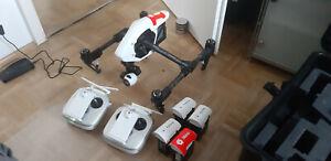 DJI Inspire 1 - X3 Kamera - 2te Fernst. - 5 Akkus - Profikoffer