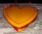 Longaberger 1999 Love Letters Sweetheart Basket Combo:Lid, Liner, Protector