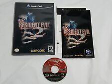 Resident Evil 2 Nintendo GameCube COMPLETE Game Cube Capcom resadent Works Great
