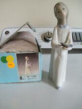 Lladro Girl with Candle Nina con palmatoria # 4.868 W/ box