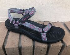 Womens SKECHERS Regae Redemption Sport Sandals Size 10 Excellent Condition