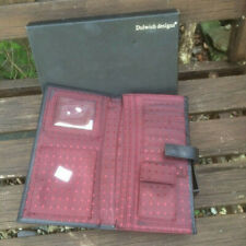 large mens wallet with card holders and pouch for cash