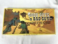 Cadaco Good Guys 'n Bad Guys A Game of the Old West Board Game 1973