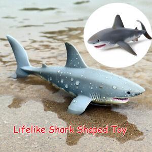 Lifelike  Shark Shaped Toy Realistic Sea Creature Toy Motion Simulation Animal
