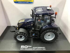 UH 1/32 New Holland T5.140 Blue Dark 600pcs 50th Anniversary Tractor Model 6254