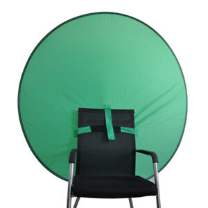 Green Screen Backdrops Photography Background Board Portable Folding Band Chair