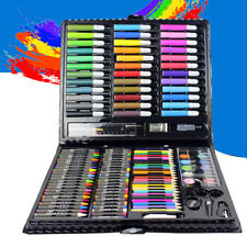Water Color Pen Drawing Painting Art Crayon Set for Kids Crafts Kit Gift 150 pcs