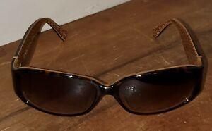 Coach Keri S464 Light Tortoise Brown Designer Sunglasses, Gradient Brown Lens