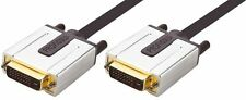 Profigold PROV1405 5m Premium Gold DVI Cable, DVI-D Male to Male 5 meters