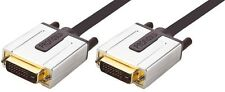 Profigold PROV 1405 5m Premium Gold Cavo DVI, DVI-D Maschio a Maschio 5 METRI