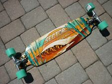 "*NEW* Sector 9 Shoots 33.5"" Complete Bamboo Longboard Sidewinder"
