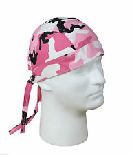 Bandana Pink Camo Cotton Biker Headwrap Do Rag Rothco 5195
