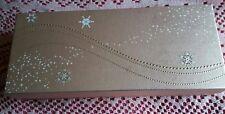 Gold Christmas Snowflake Gift Box Long/Medium/NEW