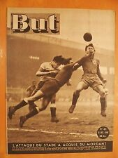 But 45 du 31/12/1946-Stade Français-Montpellier 6-2-Rugby Basques-Army Britanniq