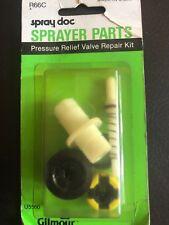 Gilmour Spray Doc Repair Kit R66C Pressure Relief Valve New Sealed