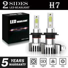 Мини H7 светодиодный фары набор 2200 Вт 330000 лм высокой низкой луч туман лампа 6000K белая лампа