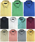 Men's Quality Cotton Blend Short-Sleeves Dress Shirt, Button Down 11 colors SB02