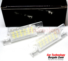2x VW Transporter T5 Ultra Bright White LED Rear Number Plate Light Lamp Bulbs