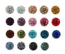 5 x Shamballa Crystal Pave Clay Disco Ball Round Beads 8MM, 10MM,12MM #4