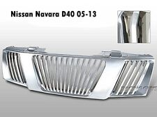 NISSAN FRONTIER  NAVARA D40 2005-2008 FRONT HEAD CHROME GRILL GRILLE LUXUS STYLE