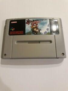Chrono Trigger Chrimson Echos SNES Super Nintendo Video Game PAL version