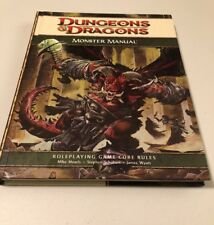 Dungeons & Dragons Monster Manual: Roleplaying Game Core Rules, 4th Edition 2008