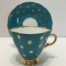 Vintage Clarence Bone China Teacup and Saucer